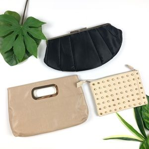 Bundle of The Limited Clutch Bags